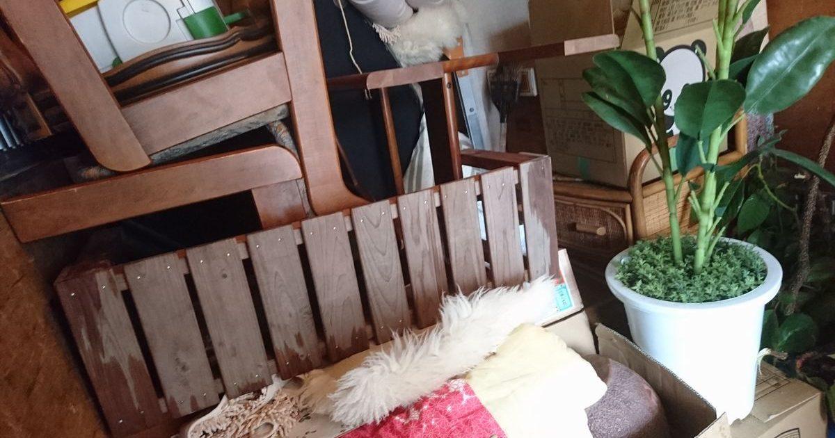 神戸市東灘区にて家具・家電など不用品回収いたしました。